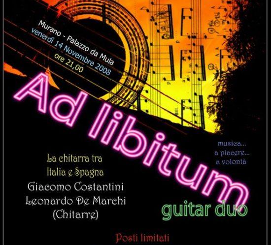 Ad Libitum Guitar Duo